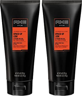 Axe Spiked Up Look Extreme Hold Gel, 6 Ounce (Pack of 2)