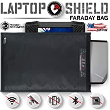 Mission Darkness Non-Window Faraday Bag for Laptops - Device Shielding for Law Enforcement, Military, Executive Privacy, E...