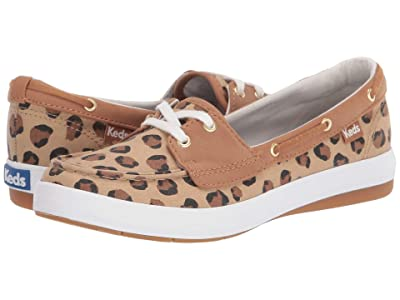Keds Charter Leopard (Tan/Black) Women