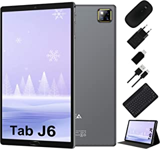Tablet 10 Pulgadas Android 10.0 - RAM 4GB | ROM 64GB - WiFi - Octa Core (Certificación Google GMS) -JUSYEA Tableta - Bater...