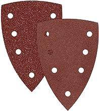 G80 p 133 x 80 mm 14 trous corindon normal ponceuses vibrantes Lot de 50 RETOL feuilles abrasives auto-agrippants