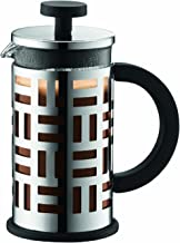 Bodum 11198-16 Eileen French Press Coffee Maker, 3 Cup, 0.35L Capacity, Chrome
