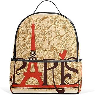 VAMIX リュックサック バッグ 男女兼用 メンズ レディース 通勤 通学 大容量 プレゼント ギフト Paris パリ 幾何学模様