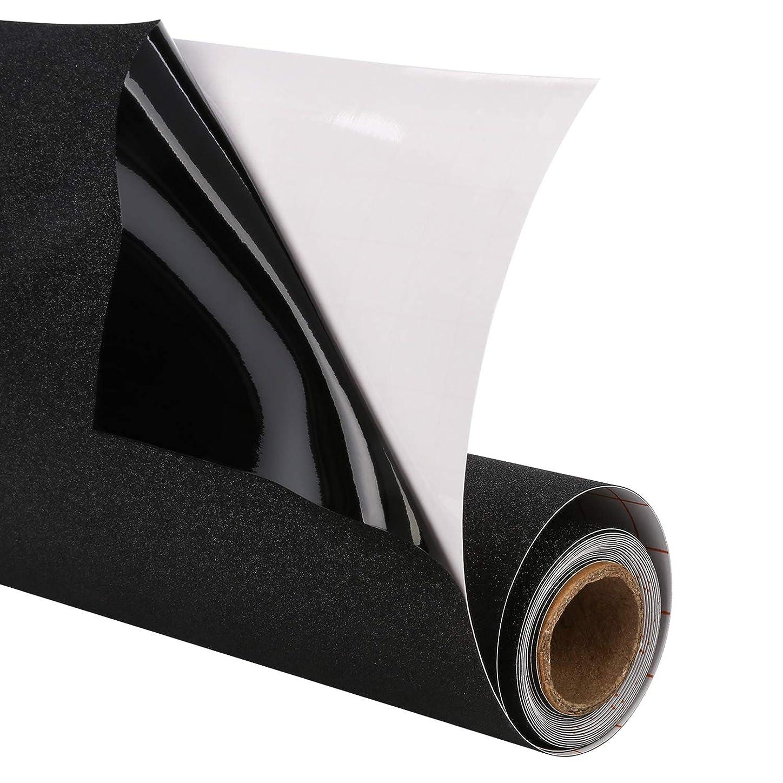 定説もっと少なく民間人Magicfly 窓用フィルム めかくしシート 完全遮光 UVカット 飛散防止 45×215cm 水で貼る 黒