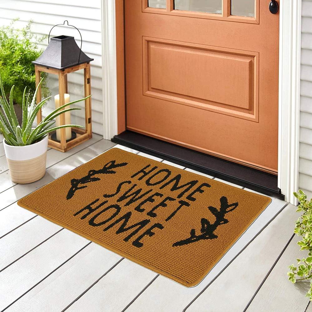 Door mat Outdoor Indoor Home Mat Qu Waterproof Non Free shipping on posting reviews Financial sales sale Slip Washable