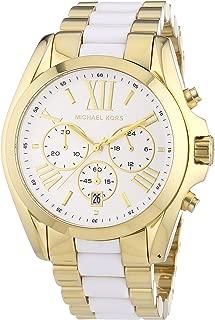 Michael Kors Women's Bradshaw Chronograph Watch, Gold, One Size