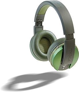 Focal Listen Wireless Over-Ear Headphones with Microphone (Green)