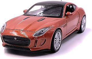 Onlineworld2013 F Type Modellauto Auto Orange Maßstab 1:34 (lizensiert)