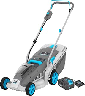 Swift 40V EB137CD2 Cordless Lawnmower Digital Wide Battery Lawn Mower Cutting Width 37cm (Tool + Battery + Charger)
