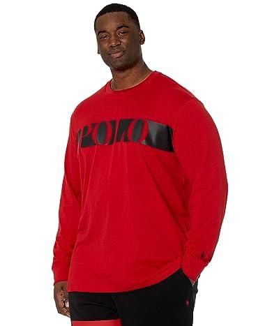 Polo Ralph Lauren Big & Tall Big Tall Cotton Jersey Graphic T-Shirt (RL 2000 Red) Men
