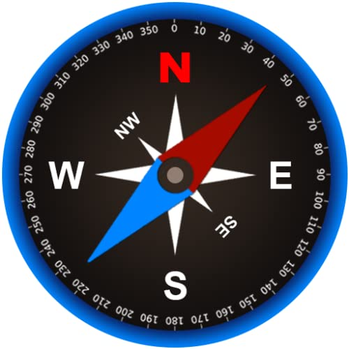 Gyro Compass Pro: A Toolkit with Altimeter - Metal Detector - Level...