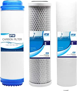 Fits iSpring F3 10-inch Universal Replacement Filter Set Cartridges for Reverse Osmosis and 3-Stage Water Filtration Syste...