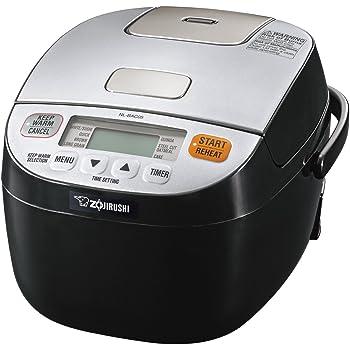 Zojirushi Micom Rice Cooker & Warmer, Silver Black