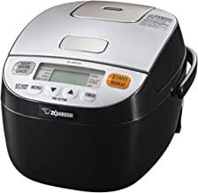 اجاق گاز گرمتر و گرمتر Zojirushi NL-BAC05SB Micom Rice، مشکی نقره ای