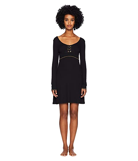 ELSE Urban Lace-Up Long Sleeved Lounge Dress