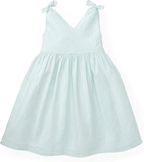 Hope & Henry Girls` Sleeveless Swing Dress