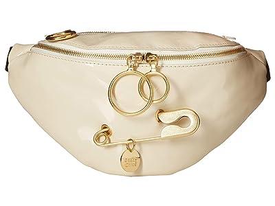 See by Chloe Mindy Fanny Pack (Cement Beige) Cross Body Handbags