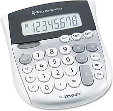 Texas Instruments TI1795SV TI-1795SV Minidesk Calculator, 8-Digit LCD