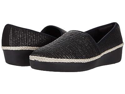 FitFlop Casa Espadrille Loafers (Black) Women