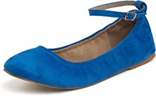 DREAM PAIRS Women's Solid Plain Walking Classic Ballet Flats Shoes