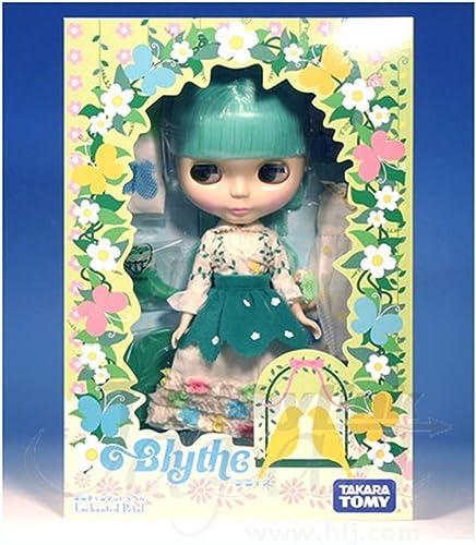 Takara Neo Blythe Doll Enchanted Petal Grün Hair
