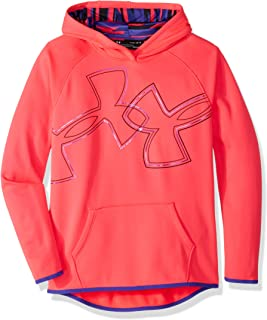 Under Armour Girls Armourfleece Hoody Dual Logo