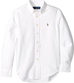 Polo Ralph Lauren Kids - Cotton Oxford Sport Shirt (Big Kids)