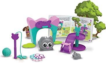 Learning Resources Coding Critters Scamper & Sneaker, Toy of the Year Award Winner, Homeschool, Interactive STEM Coding To...