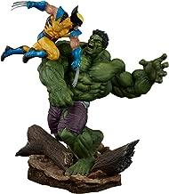 Sideshow Marvel Comics Hulk vs. Wolverine Maquette Statue