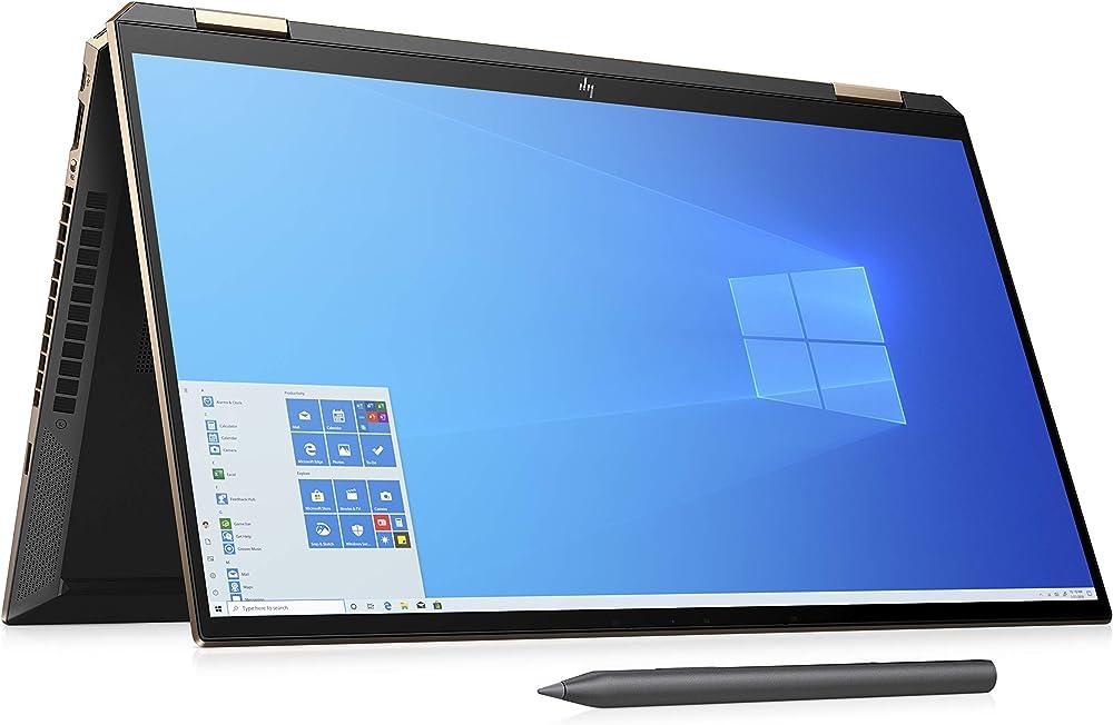 Hp – pc notebook convertibile intel core i7 1165g7 ram 16 gb ssd 1 tb grafica intel iris lettore impronte 15-eb1000sl