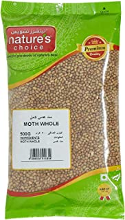 Natures Choice Moth Whole - 500 gm (Brown)