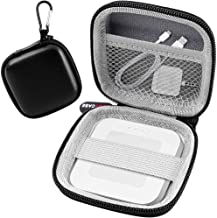 Chip Card Reader Scanner Case, Hard Carrying Bag Holder Fits Square A-SKU-0485 Contactless and Chip Reader with USB Charge Cable for EMV Chip Cards/Apple Pay/Android Pay/More - Black by COMECASE