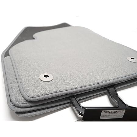 Kh Teile Fußmatten Velours Automatten Original Qualität Stoffmatten 4 Teilig Grau Auto