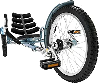 Mobo Shift 3-Wheel Recumbent Bicycle Trike. Reversible Adult Tricycle Bike