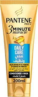 Pantene Pro-V 3 Minute Miracle Daily Care Conditioner plus Mask 200 ml