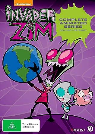 Invader Zim - Complete Invasion (Collector's Set) - 6-DVD Box Set ( Invader Zim - Complete Series 1 & 2 (46 Episodes) )