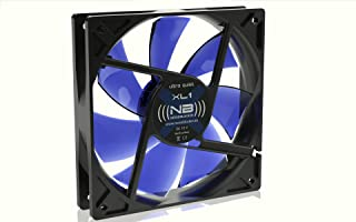 Noiseblocker BlackSilentFan XL1 - Ventilador de PC (Ventilador, Carcasa del Ordenador, 12 cm, Negro, 5V, 12 cm)