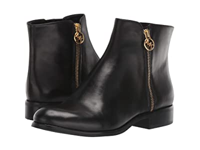 MICHAEL Michael Kors Jaycie Flat Bootie (Black) Women