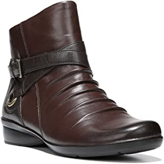 Women's Cycle Bridal Brown/Oxford Brown Leather Boot 8.5 W (C)