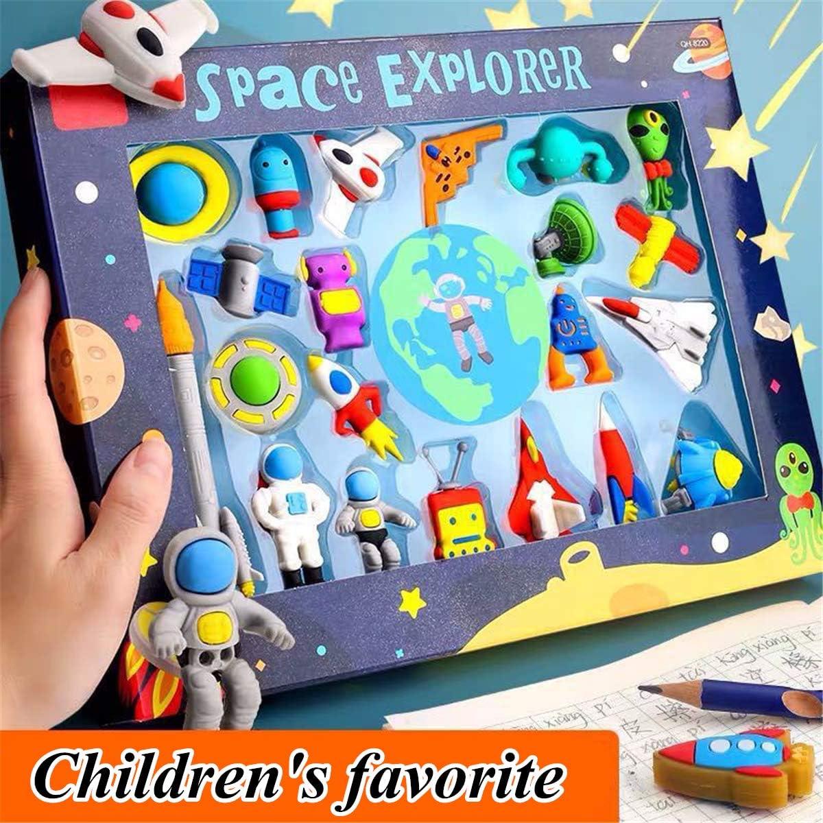 Funny Space Dinosaur Princess Eraser Suit Childrens Favor School Supplies-A FEIlei Eraser