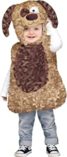Cuddly Puppy Toddler Costume Small-(24 Months-2T)