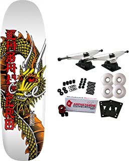 Powell-Peralta Skateboard Complete Caballero Ban This White Re-Issue