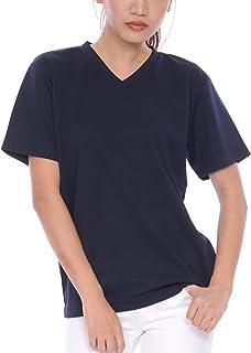 ティーシャツドットエスティー Tシャツ ドライ 半袖 無地 Vネック UVカット4.4oz メンズ (S,M,L,LL,3L,4L,5L)