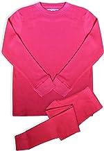 BASICO - Conjunto de Ropa Interior térmica para Mujer, 2 Piezas, 100% algodón