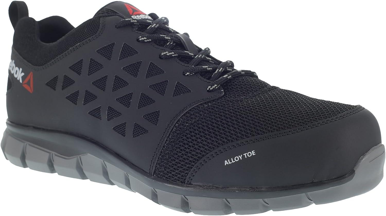 48a0b791681 REEBOK WORK Grey Black 43, shoes, Work PR Athletic Toe Aluminium ...