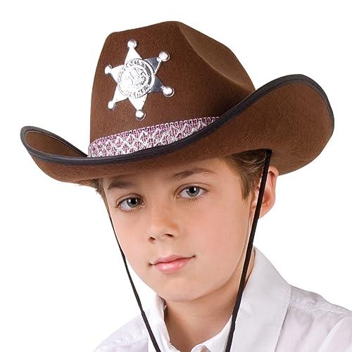 construction rationnelle Nouvelles Arrivées prix limité Chapeau Cowboy Enfant: Amazon.fr