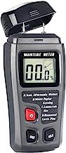 Bside EMT01 Digital Wood Moisture Meter Handheld 2 Pins Timber Lumber Damp Humidity..
