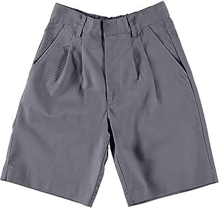 ユニバーサル基本的なユニセックスプリーツshorts-gray