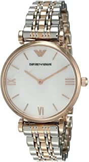 Emporio Armani Womens Quartz Watch, Analog Display and Stainless Steel Strap AR1683