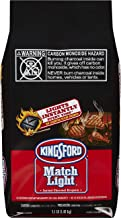 Kingsford Match Light Instant Charcoal Briquettes, 3.1 Pounds (Pack of 6)